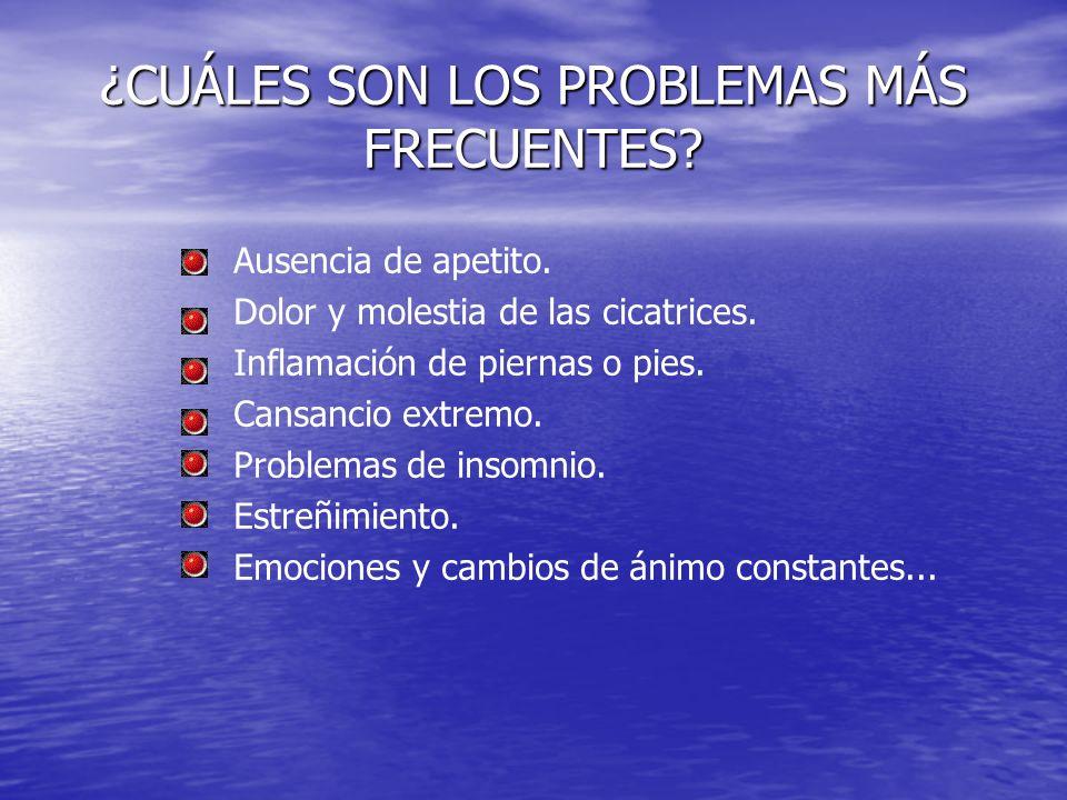 ¿CUÁLES SON LOS PROBLEMAS MÁS FRECUENTES