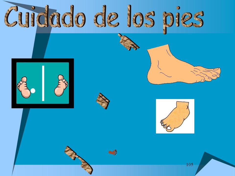 Cuidado de los pies f i n 105