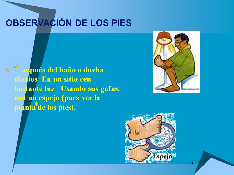 OBSERVACIÓN DE LOS PIES