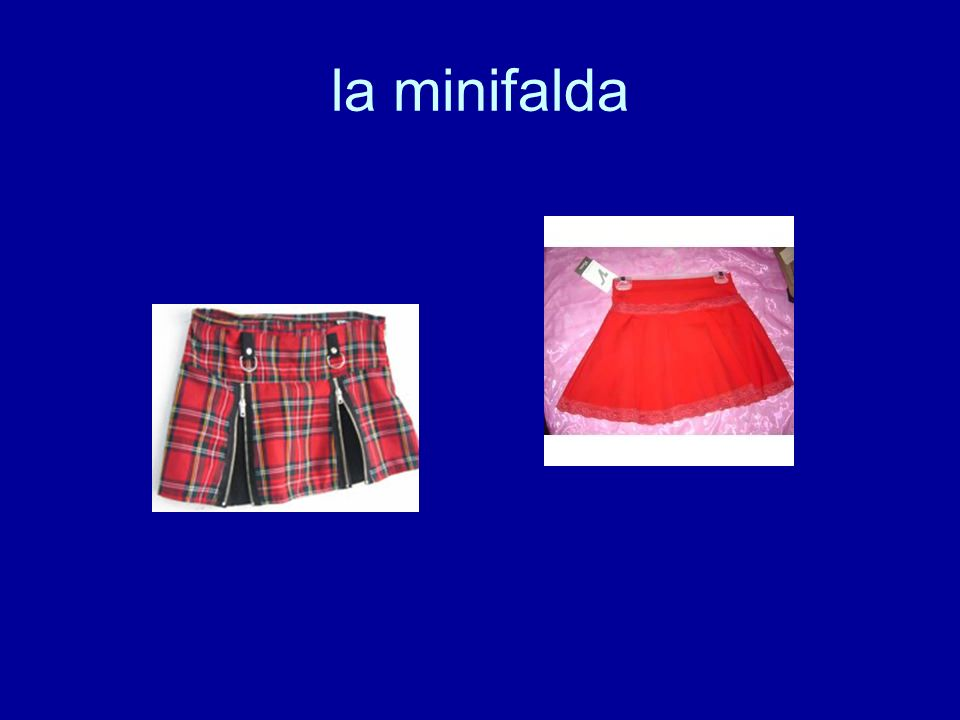 la minifalda
