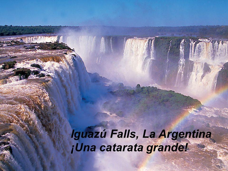 Iguazú Falls, La Argentina