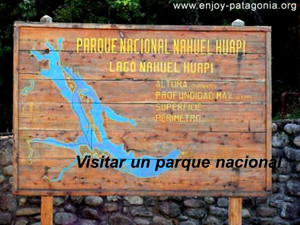 Visitar un parque nacional