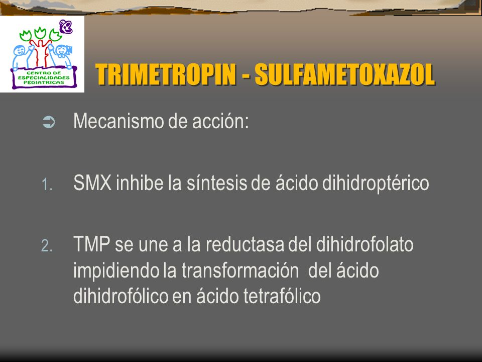 TRIMETROPIN - SULFAMETOXAZOL