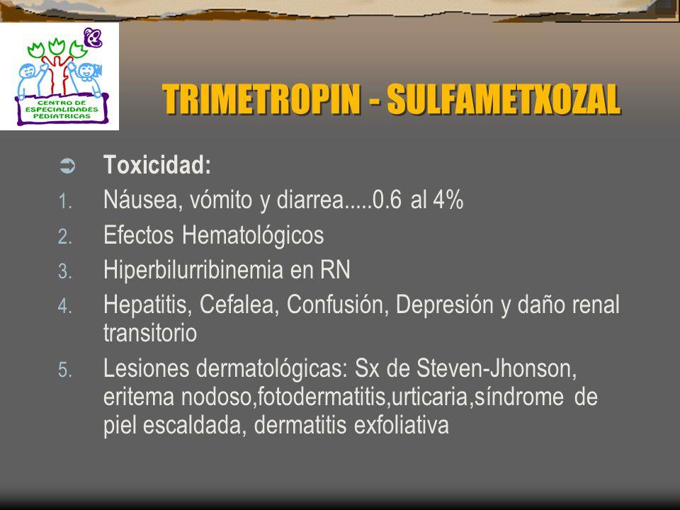 TRIMETROPIN - SULFAMETXOZAL