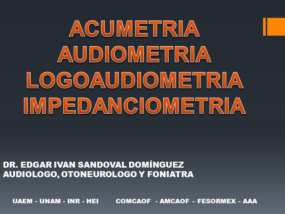 UAEM - UNAM - INR - HEI COMCAOF - AMCAOF – FESORMEX - AAA