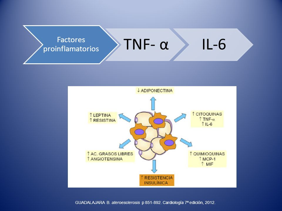 Factores proinflamatorios