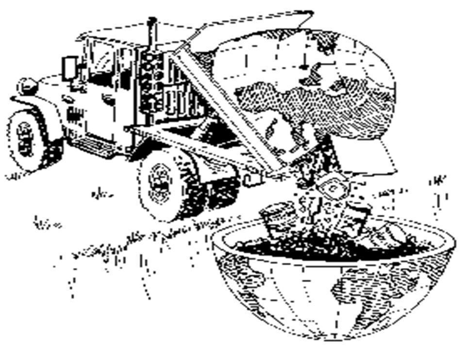 Nos hemos convertido en la sociedad del desperdicio, estamos llenando la tierra de basura y además proliferan los vertidos incontrolados