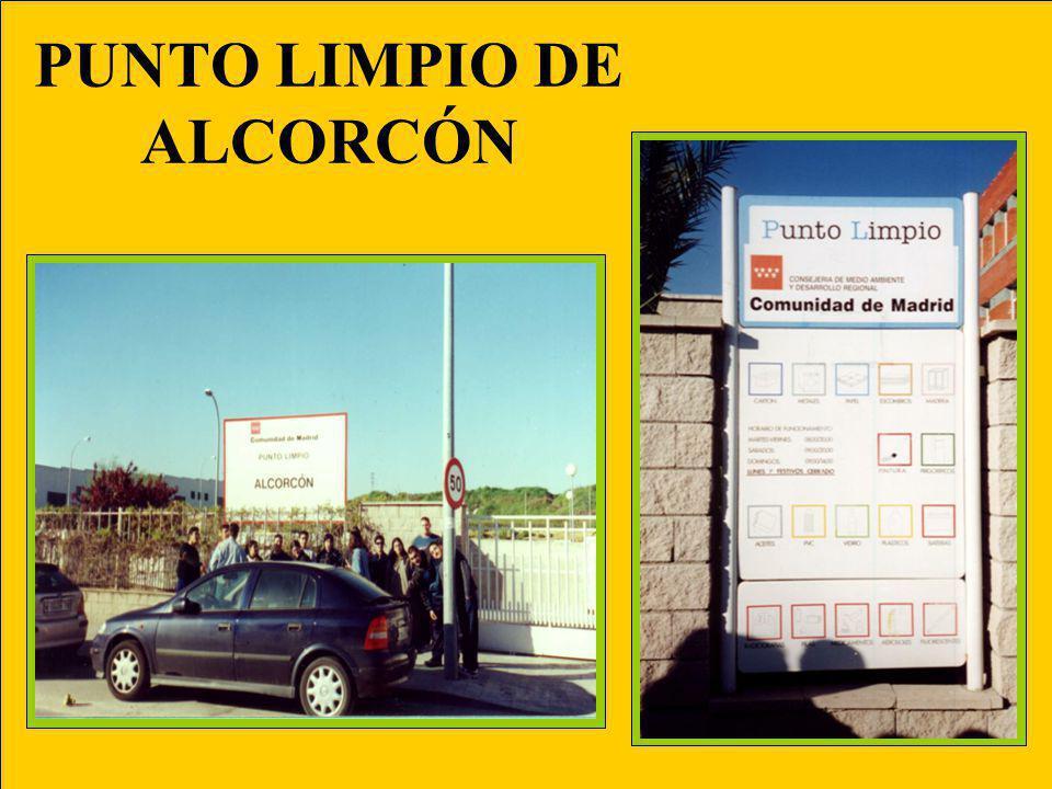 PUNTO LIMPIO DE ALCORCÓN