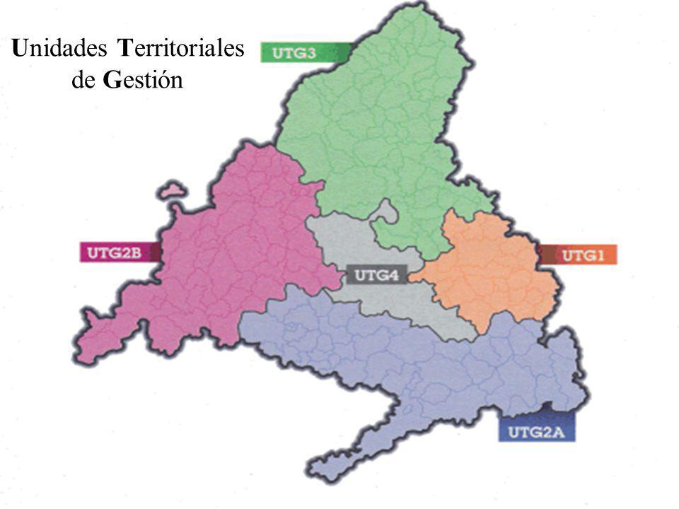 Unidades Territoriales de Gestión