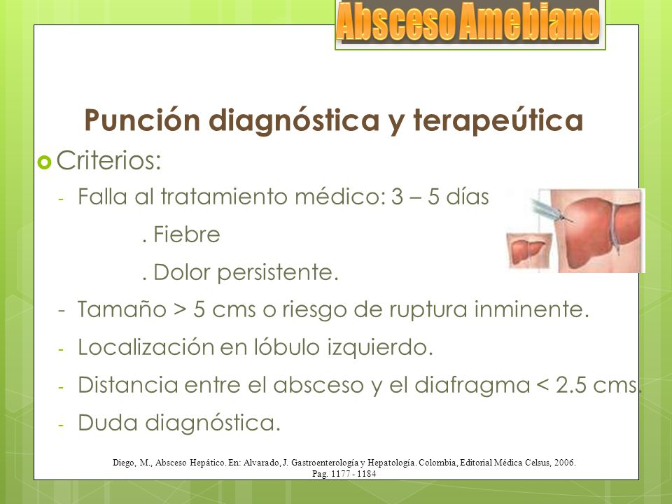 Punción diagnóstica y terapeútica