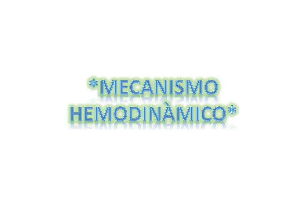 *MECANISMO HEMODINÀMICO*