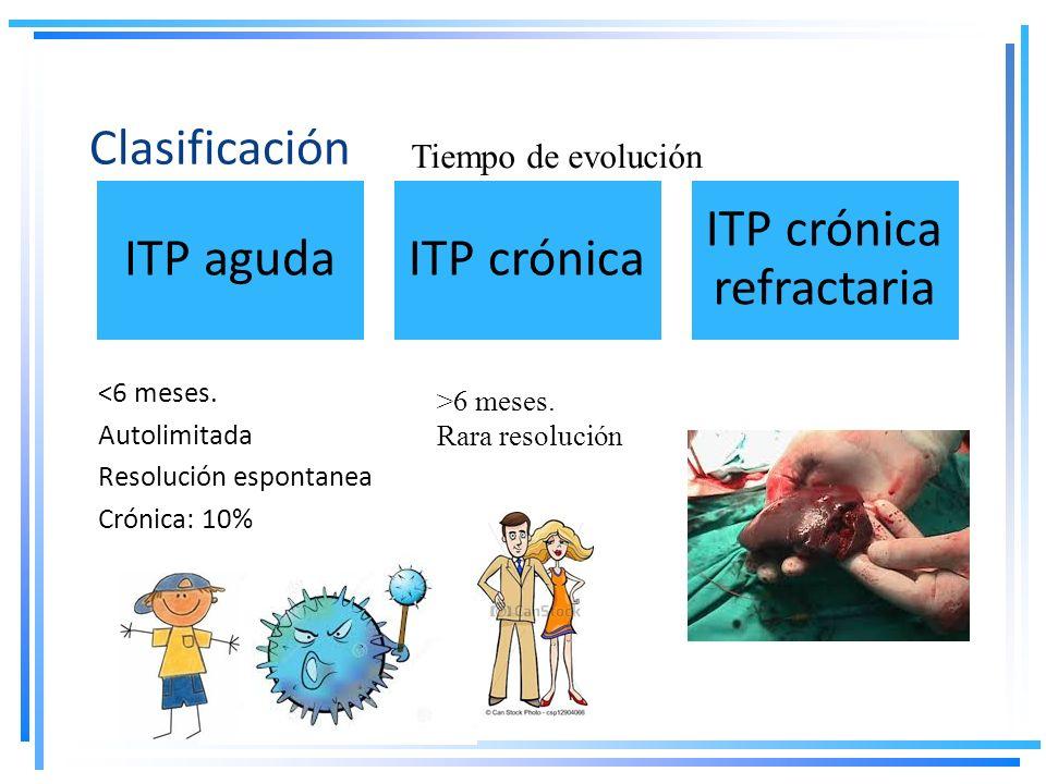 ITP crónica refractaria