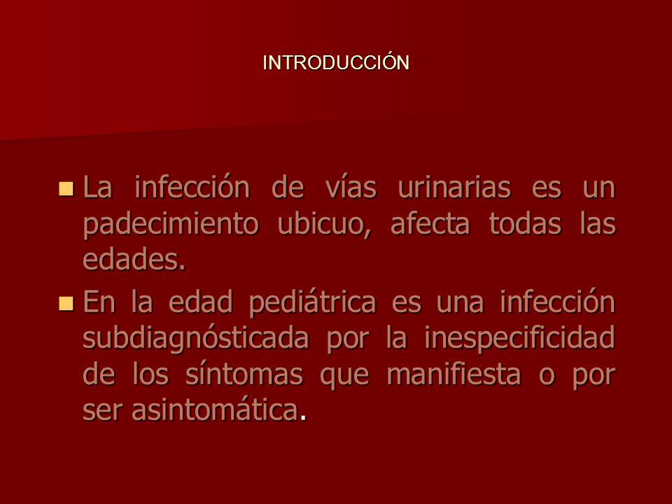 La infección de vías urinarias es un padecimiento ubicuo, afecta todas las edades.