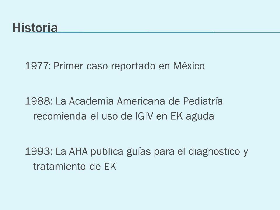 Historia 1977: Primer caso reportado en México