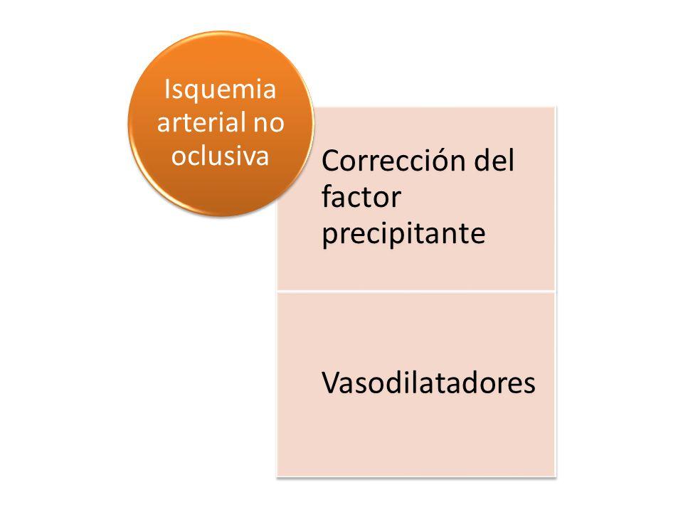 Isquemia arterial no oclusiva
