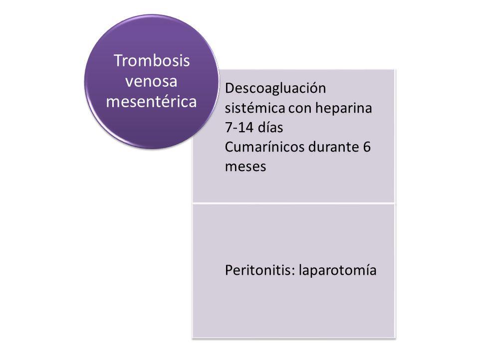 Trombosis venosa mesentérica