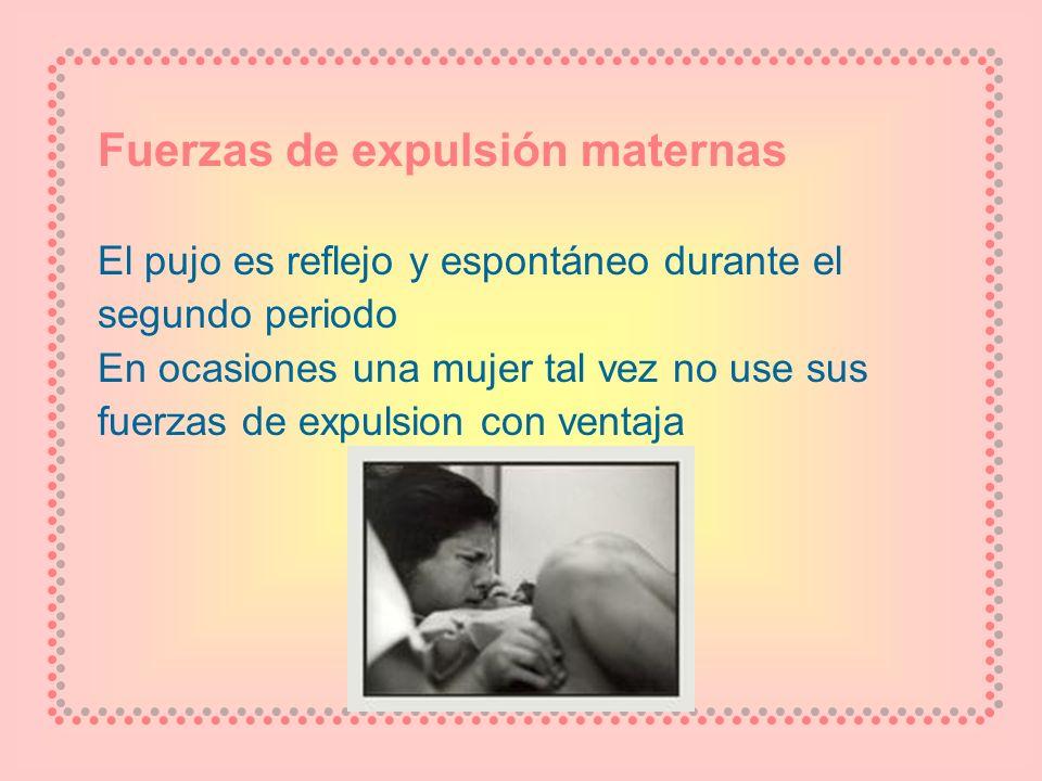 Fuerzas de expulsión maternas