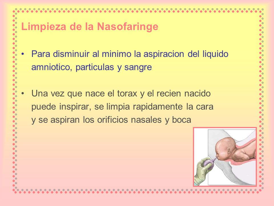Limpieza de la Nasofaringe