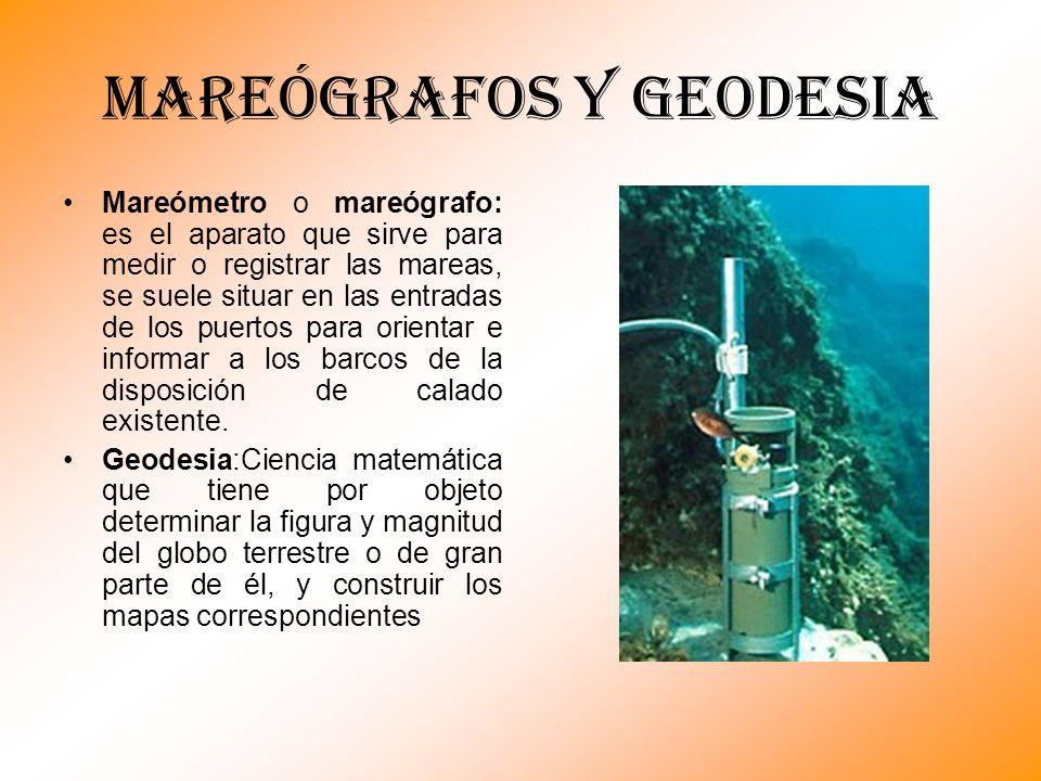 MAREÓGRAFOS Y GEODESIA