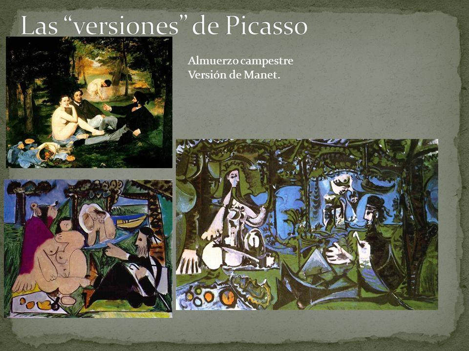 Las versiones de Picasso