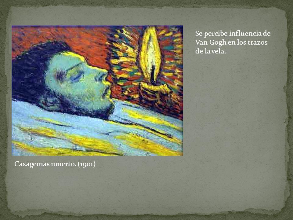 Se percibe influencia de Van Gogh en los trazos de la vela.