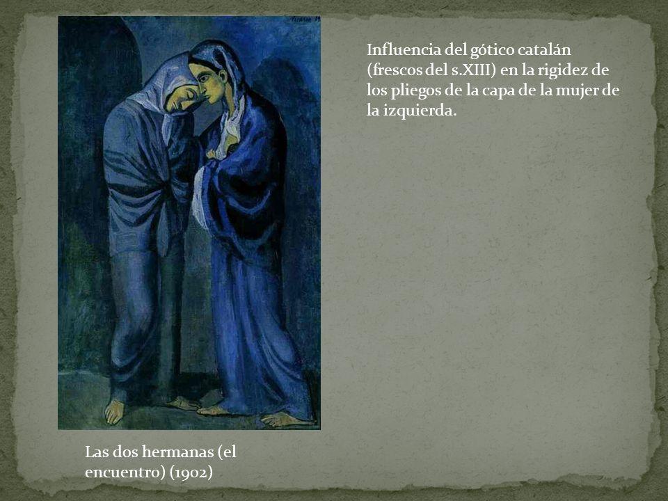 Influencia del gótico catalán (frescos del s