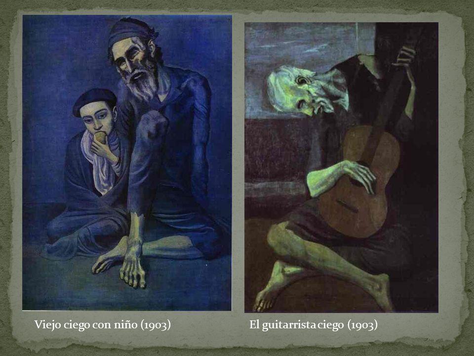 Viejo ciego con niño (1903) El guitarrista ciego (1903)