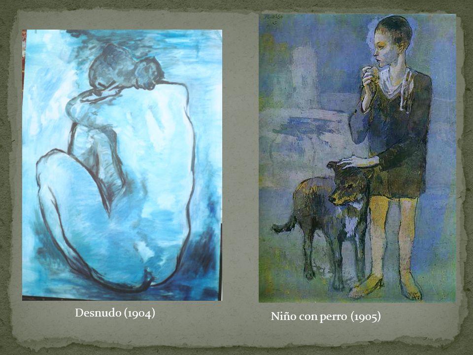 Desnudo (1904) Niño con perro (1905)