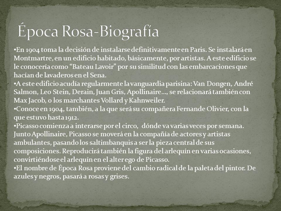 Época Rosa-Biografía