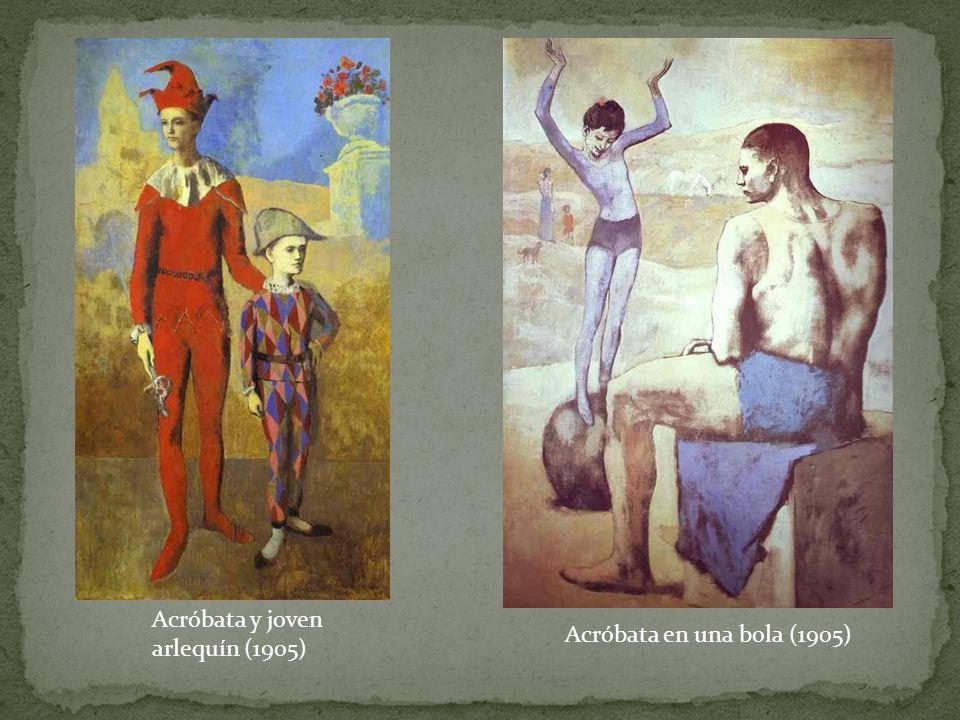 Acróbata y joven arlequín (1905)