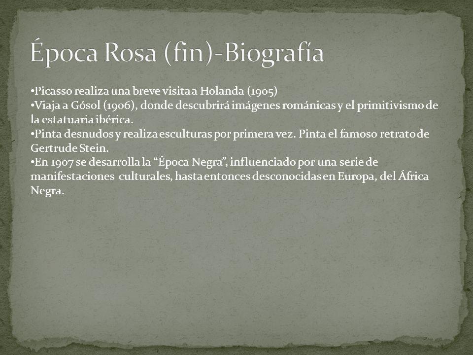 Época Rosa (fin)-Biografía