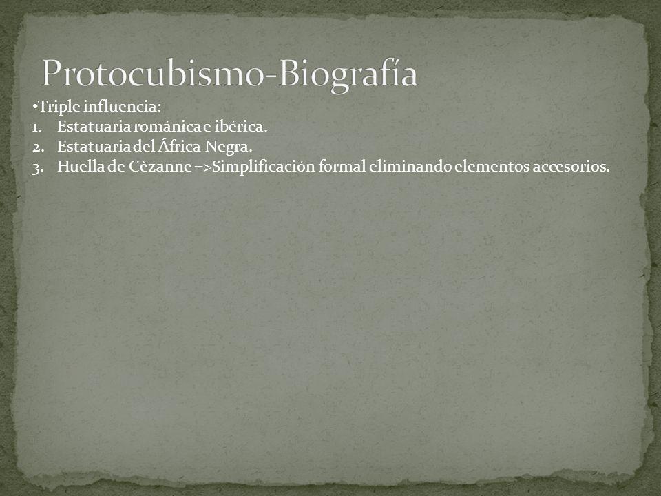 Protocubismo-Biografía