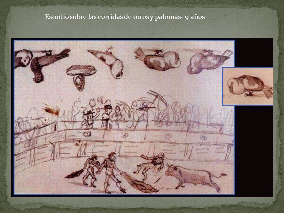 Estudio sobre las corridas de toros y palomas- 9 años