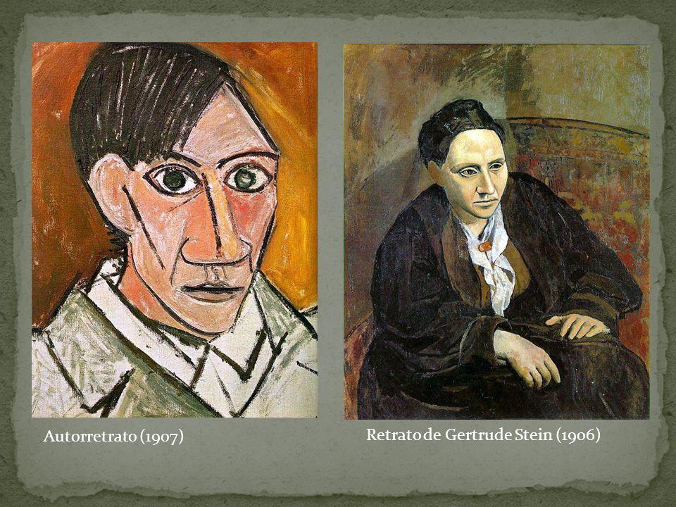 Autorretrato (1907) Retrato de Gertrude Stein (1906)
