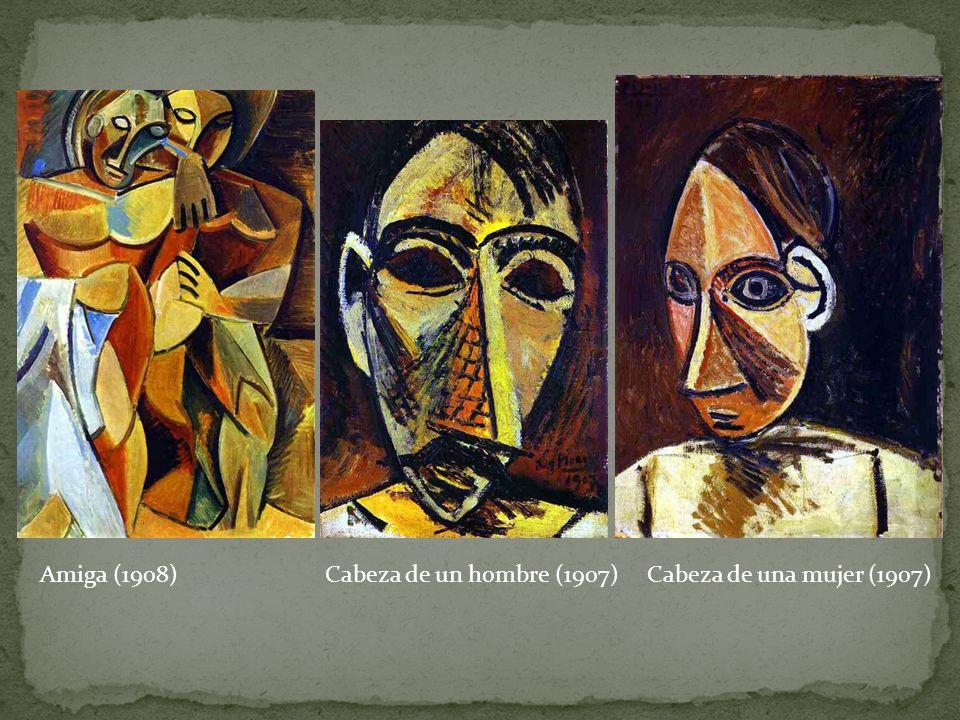 Amiga (1908) Cabeza de un hombre (1907) Cabeza de una mujer (1907)