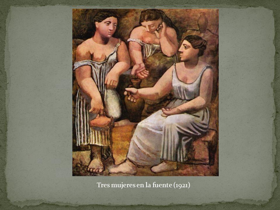 Tres mujeres en la fuente (1921)