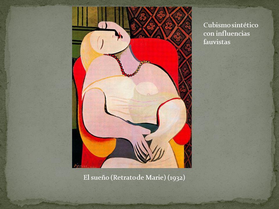 Cubismo sintético con influencias fauvistas