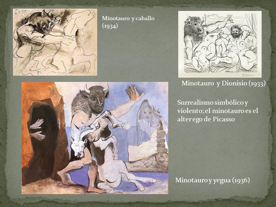 Minotauro y Dionisio (1933)