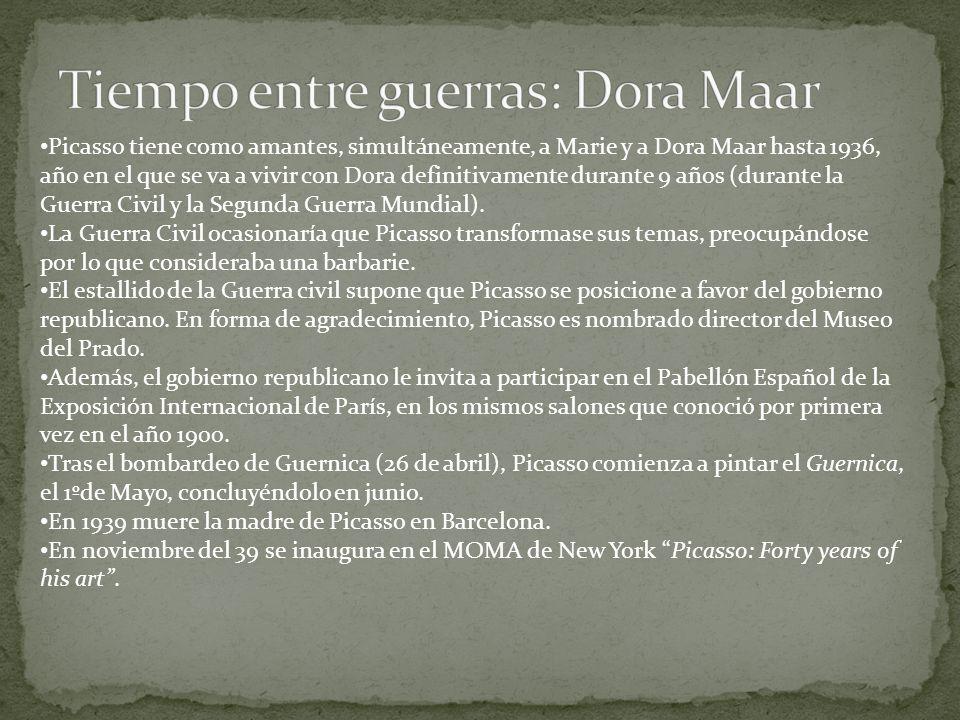 Tiempo entre guerras: Dora Maar