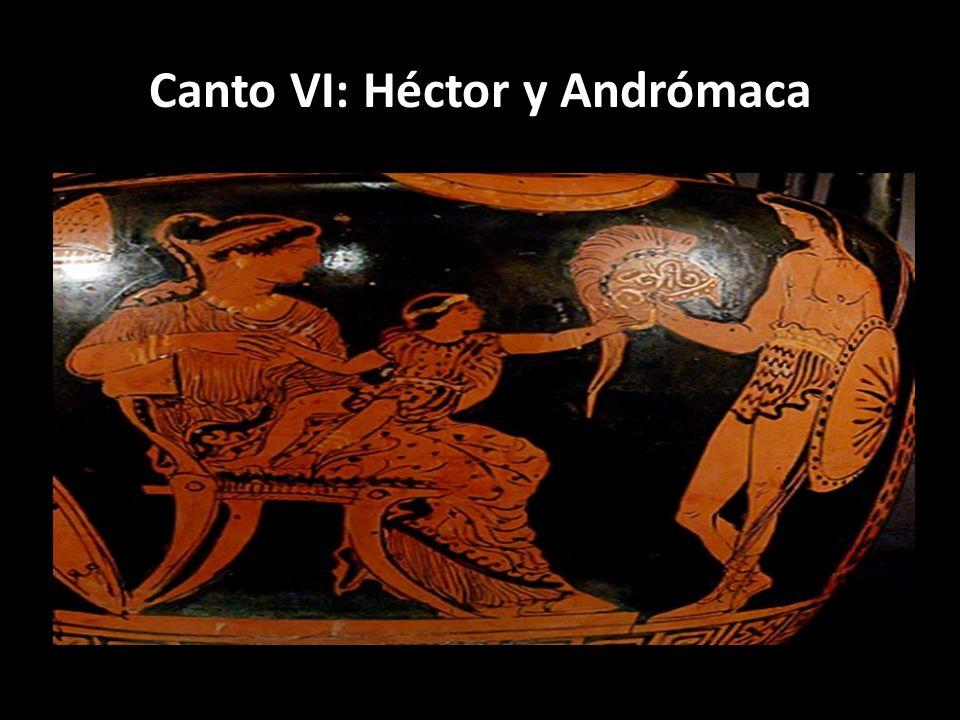 Canto VI: Héctor y Andrómaca