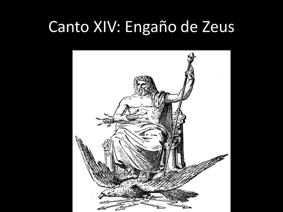 Canto XIV: Engaño de Zeus