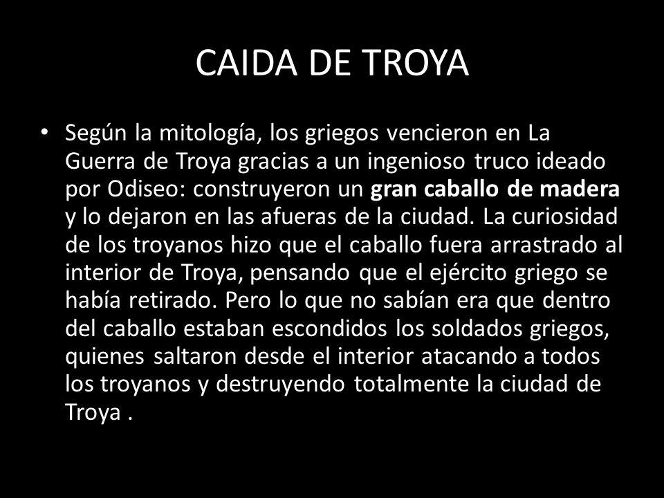 CAIDA DE TROYA