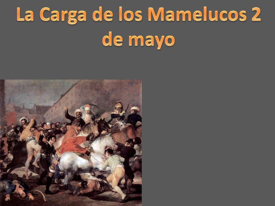 La Carga de los Mamelucos 2 de mayo