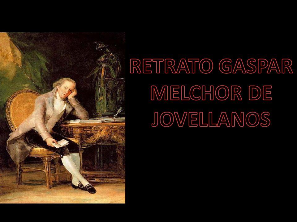 RETRATO GASPAR MELCHOR DE JOVELLANOS