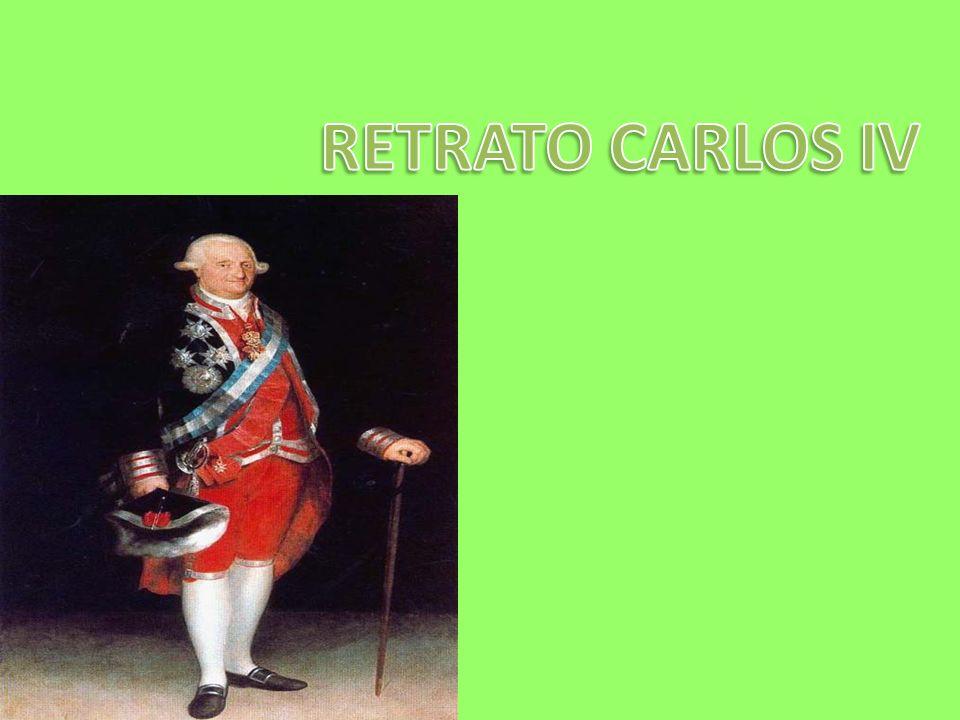 RETRATO CARLOS IV