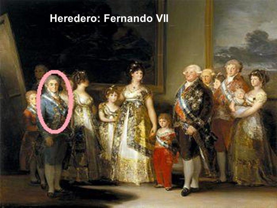 Heredero: Fernando VII