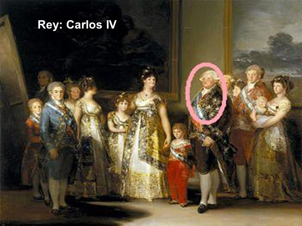 Rey: Carlos IV