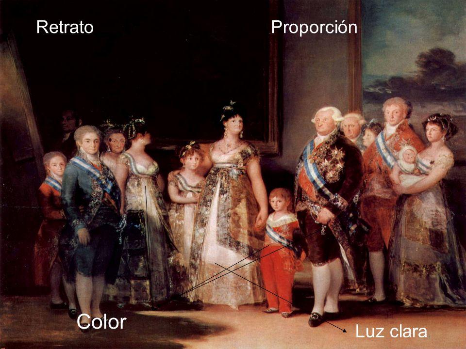 Retrato Proporción Color Luz clara.