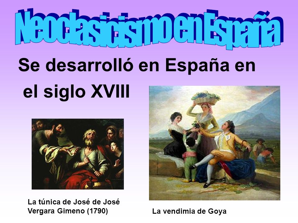 Neoclasicismo en España