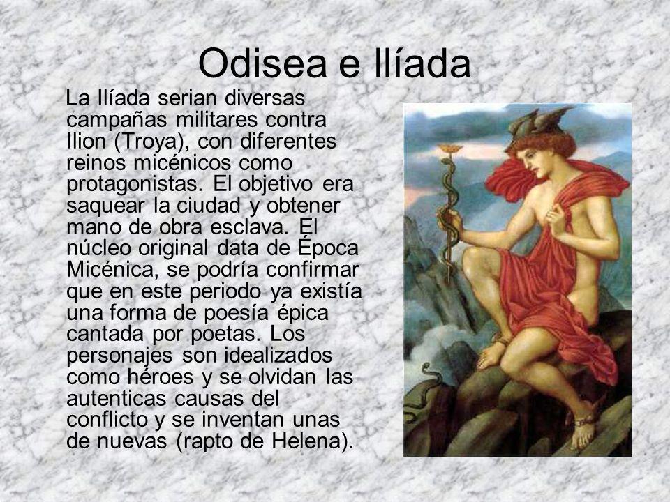 Odisea e Ilíada